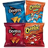 Frito-Lay Doritos & Cheetos Mix (40 Count) Variety Pack