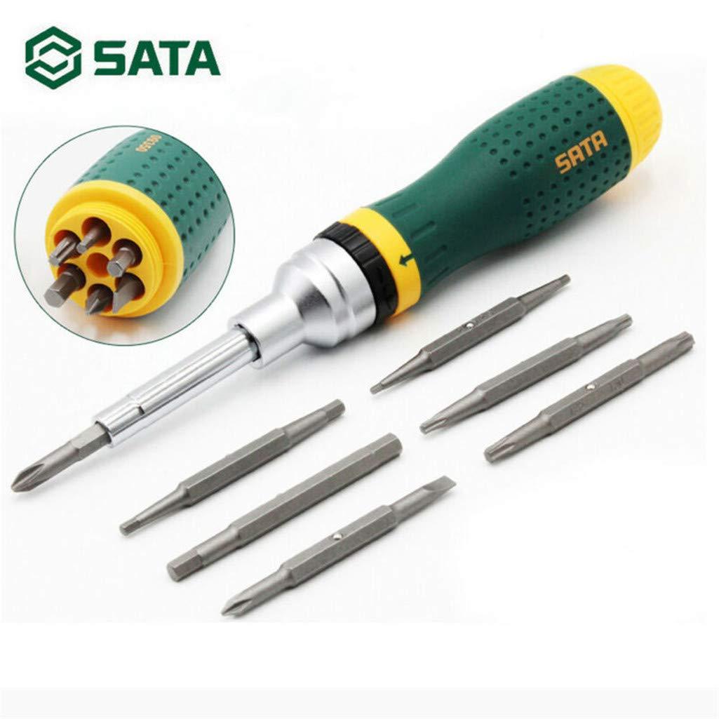 1KTon Hand Tool 19-in-1 Multi-Tool Screwdriver Kits Home Repair Tool Set by 1KTon