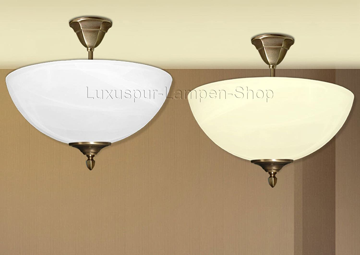 Moderne Lampen 61 : Luxus pur ug eros classic italian design brass and alabaster glass