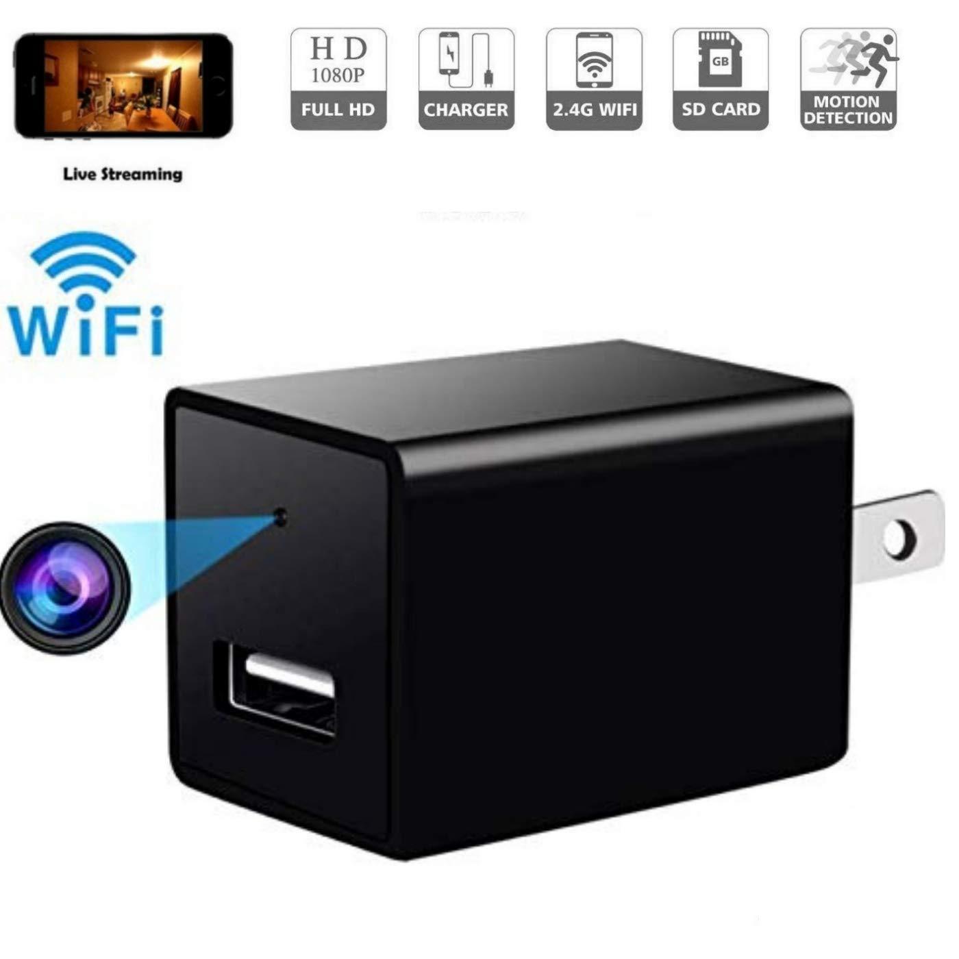 Amazon.com: Cámara espía oculta 1080p HD inalámbrica Cam ...