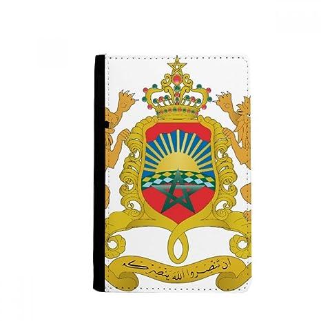 beatChong Marruecos África del Pasaporte Nacional Emblema ...