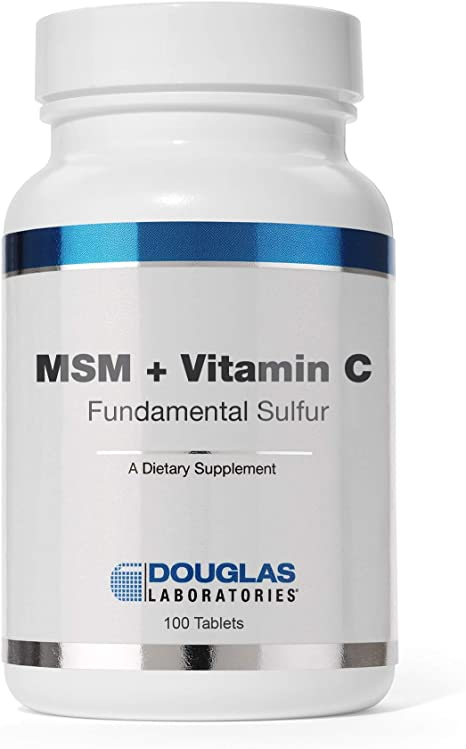 why take vitamin c with msm