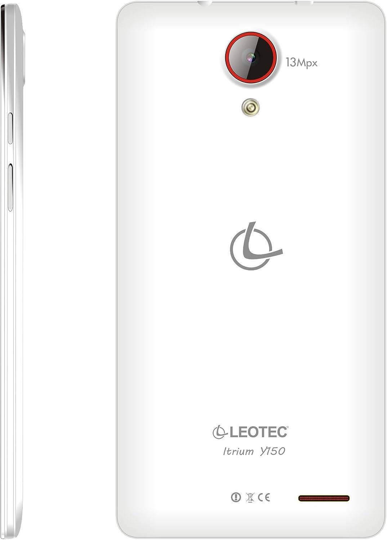 Smartphone libre dualSIM Leotec Itrium Y150 White (Reacondicionado ...