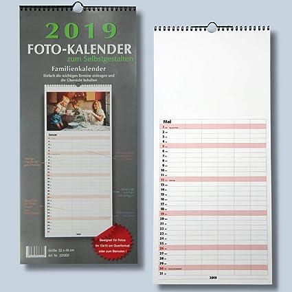 Familienplaner Bastelkalender 2019 Fur Fotos Bis 13x18 Zum Selbst