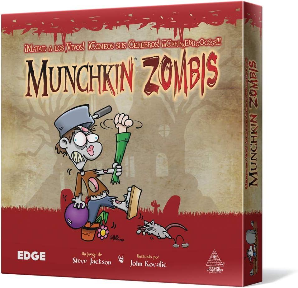 Edge Entertainment Munchkin Zombies - Juego de Mesa EDGMZ01 ...