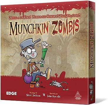Edge Entertainment Munchkin Zombies - Juego de Mesa EDGMZ01: Amazon.es: Juguetes y juegos