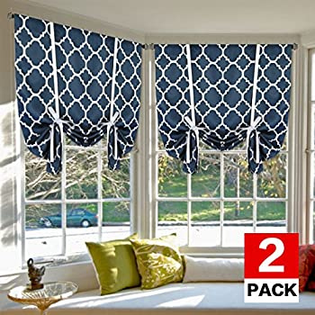 Amazon Com Nicetown Balloon Shades Blackout Curtain