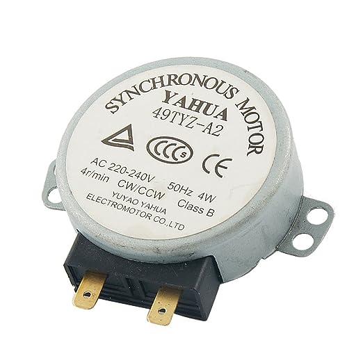 AC 220-240V 50 hz Tocadiscos Motor sincronizado para ...