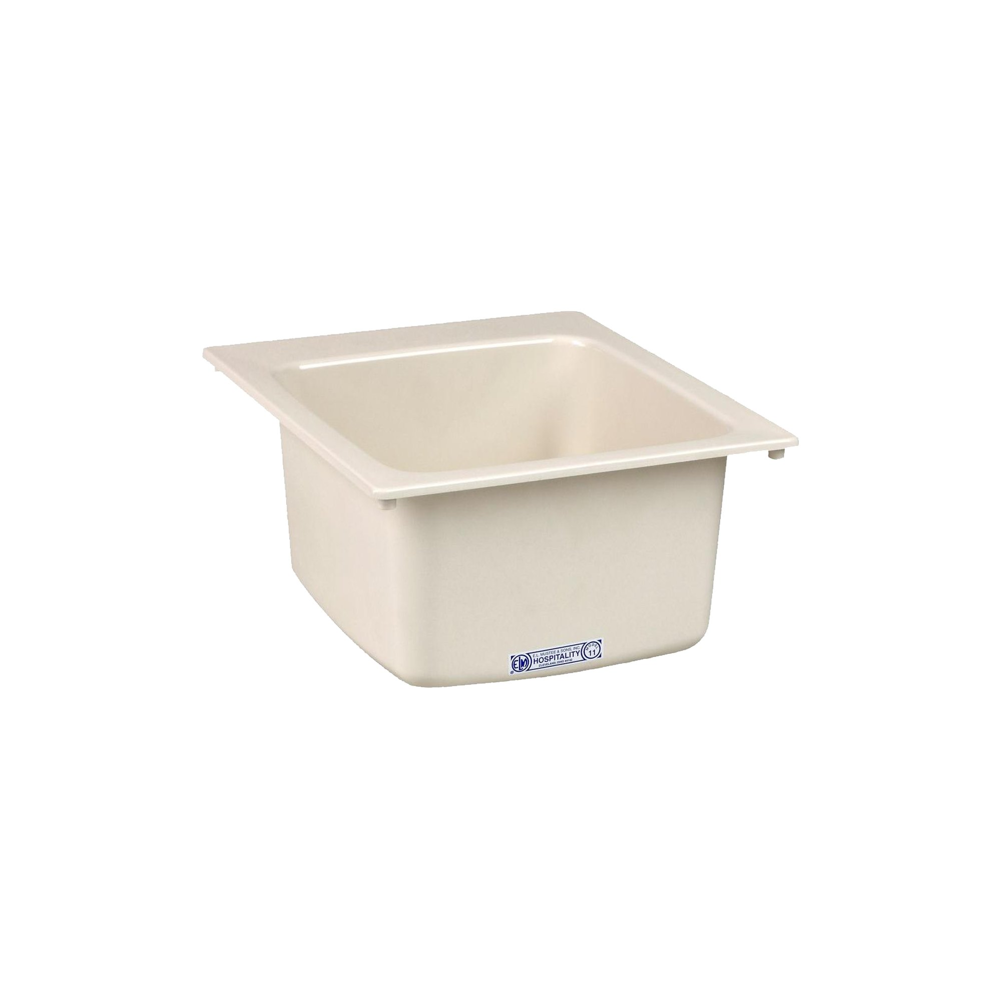 Mustee 11BT Utility Sink, 17-Inch x 20-Inch, Biscuit