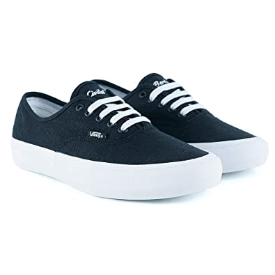 a732b1d74c502f Vans x Civilist Authentic Pro Black True White Skate Shoes  Amazon.co.uk   Shoes   Bags
