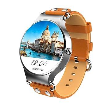 LCTCSB Reloj Inteligente Bluetooth con función de Voz, Tarjeta SIM Relojes Inteligentes con frecuencia cardíaca Pantalla táctil Bluetooth Reloj Deportivo ...