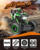 DOUBLE E 4 Wheel Drive RC Rock Crawler Dual Motors Remote Control Truck With Strong Climb Ability