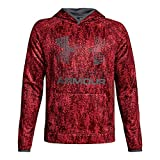 Under Armour Boys SG AF Big Logo Hoodie, X-Large, Red/Graphite - Best Reviews Guide
