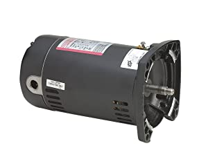 A.O. Smith SQ1072 3/4 HP, 3450 RPM, 1.65 Service Factor, 48Y Frame, Capacitor Start, ODP Enclosure, Square Flange Pool Motor