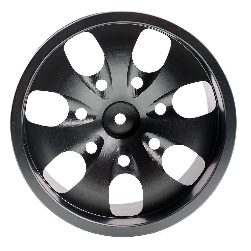 Toyoutdoorparts RC 08008N Alumiunm Gray Wheels 4pcs for RedCat 1:10 Nitro Volcano S30 Truck by Toyoutdoorparts (Image #5)