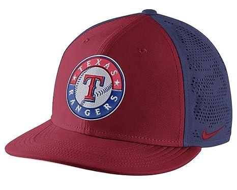 f4e6570ed7b ... discount code for texas rangers nike true vapor swoosh performance flex  hat red royal s 03f8f