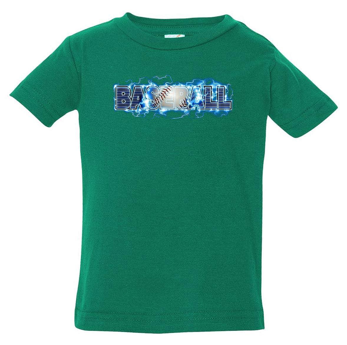 Tenacitee Babys Baseball Lightning Shirt