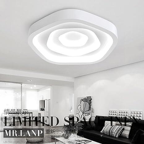 Luz de techo moderna de 83 W, iluminación de techo de ...