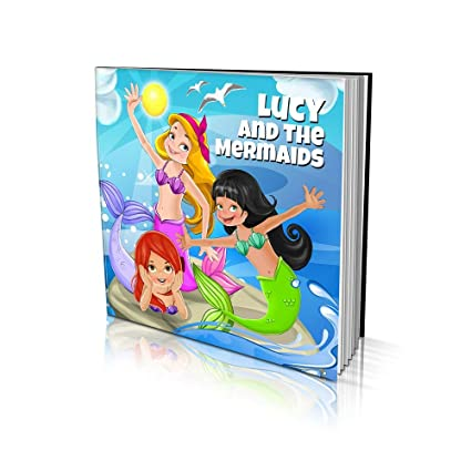 Personalized Story Book By Dinkleboo The Mermaids For Girls Ages 2 To 8 Years Old A Story About Your Daughter Meeting New Magical Friends Smooth Satin Paper