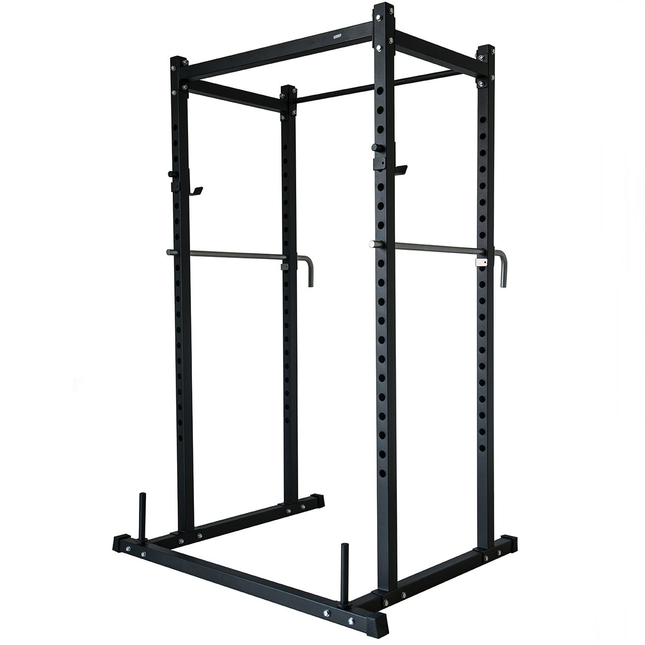 Power Rack Squat Lift Cage Deadlift Bench Racks Stand Cross Fit With Weight Holder