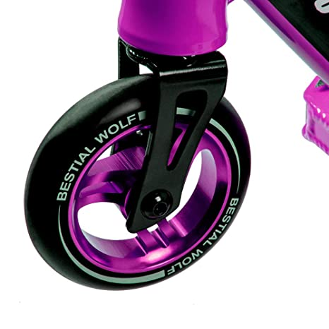 Bestial Wolf Booster B16, Scooter Pro, Manillar Negro y Tabla Color