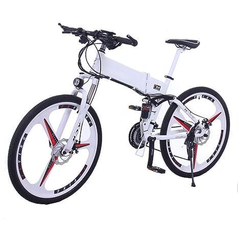 bikeBicicleta eléctrica Plegable Bicicleta de montaña Control de ...