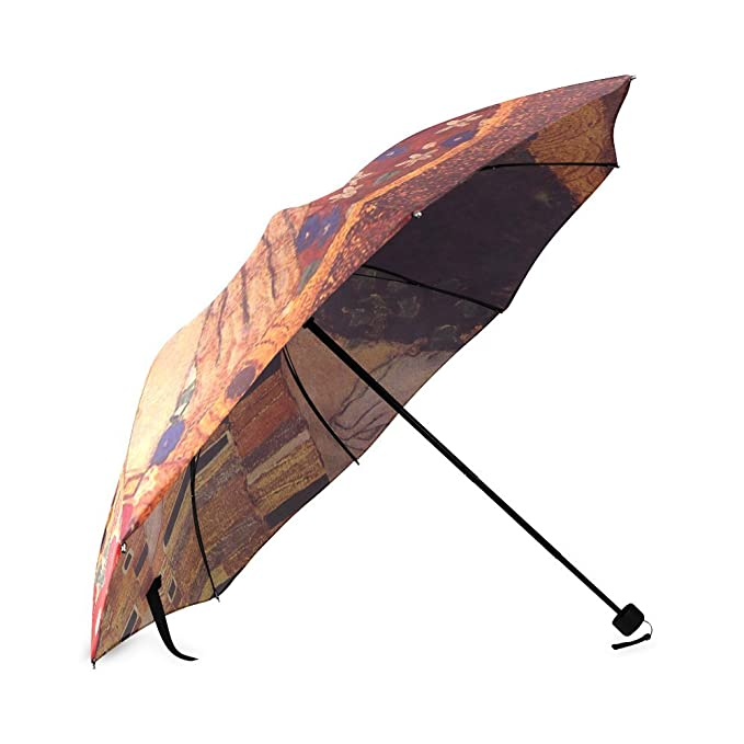 Novedad Regalos de el beso de Gustav Klimt 100% tela y aluminio plegable paraguas de alta calidad: Amazon.es: Ropa y accesorios