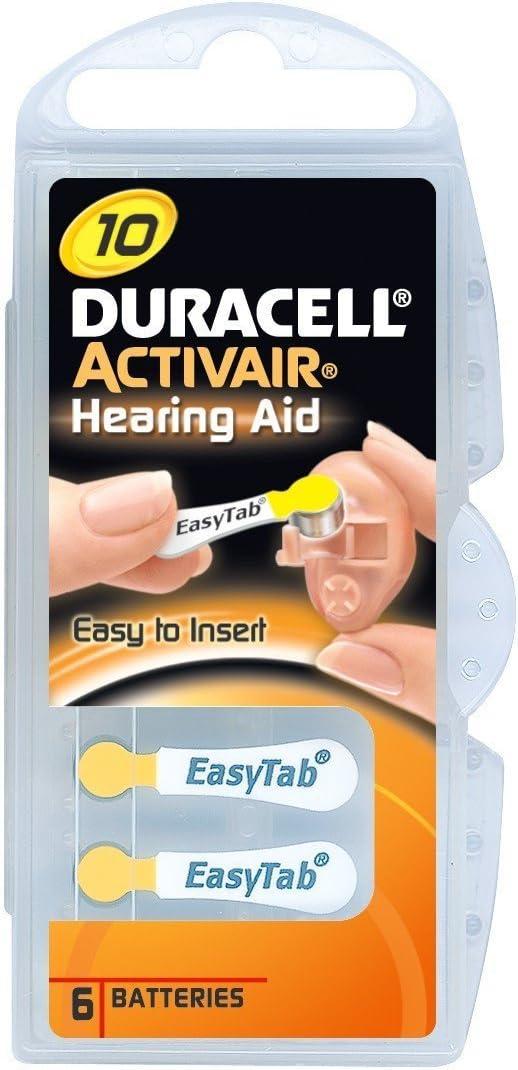 Duracell Activair Hörgeräte Batterien Easytab Elektronik