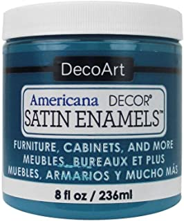 product image for DecoArt Décor Satin Enamels 8oz TrueTeal