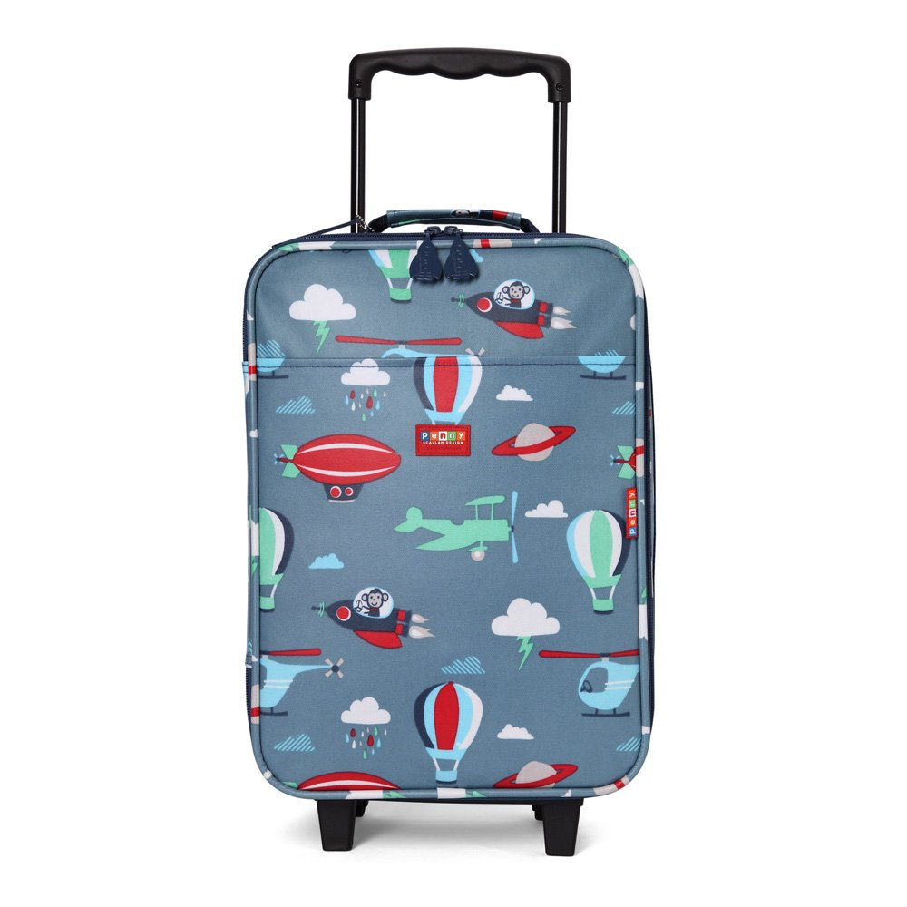 Penny Scallan Wheelie Bag Space Monkey–Trolley da (2ruote), Space Monkey WHBSM