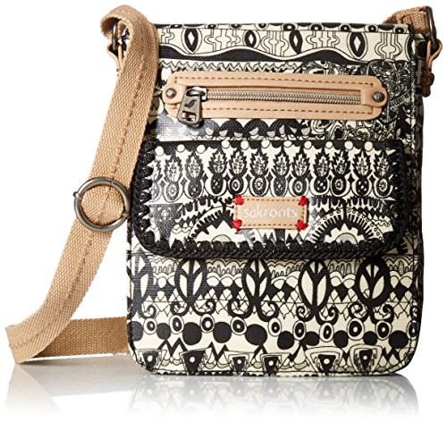 sakroots-womens-small-flap-messenger-black-white-one-world