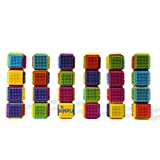 24 Piece Stacking Bristle Blocks and