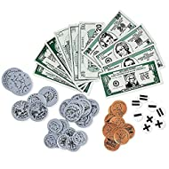 Learning Resources LER0080 Magnetic Money, 54-Piece Boxed Set, Grades K - 4