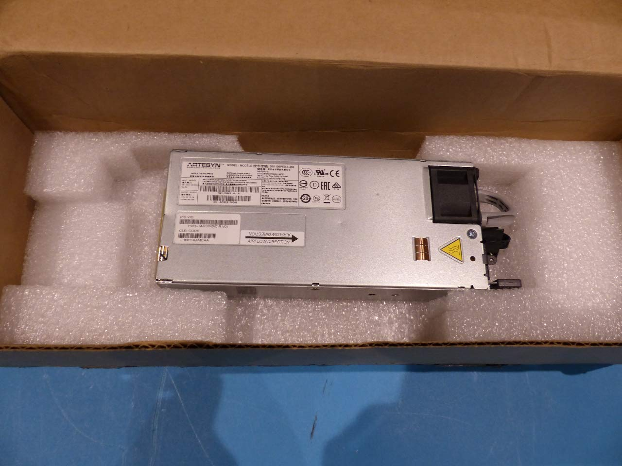 Amazon com: Cisco Catalyst C9400 PWR-C4-950WAC-R= Power