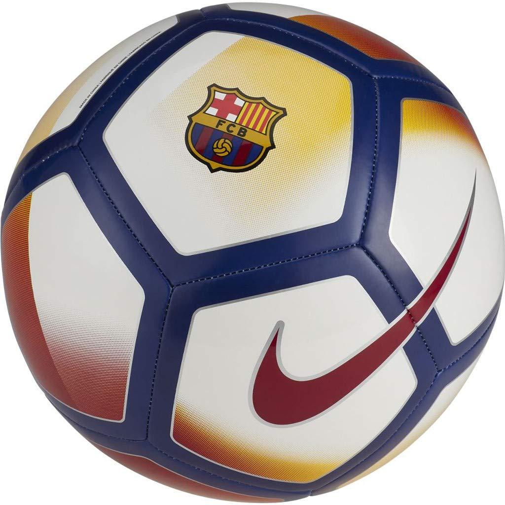 Nike FCB Barcelona Pitch balón de fútbol: Amazon.es: Deportes y ...