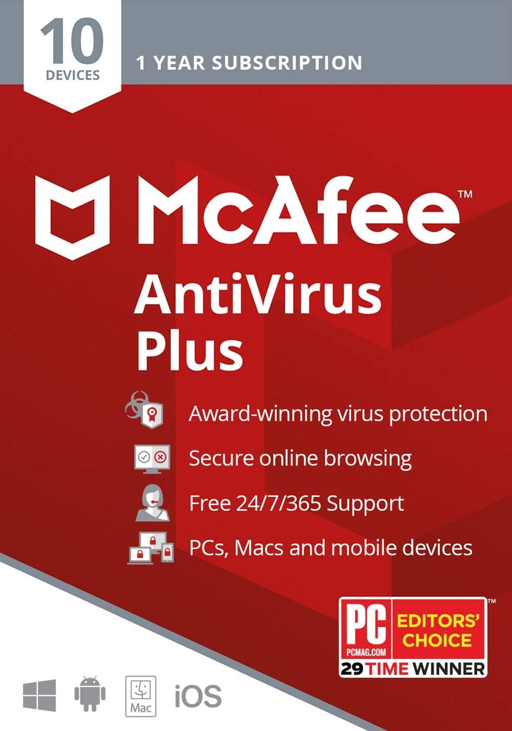 McAfee Antivirus Plus 2020 Discount Coupon Code