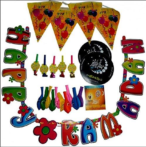 Ramadan Decorations Kit Party Muslim Holiday Celebration Buy