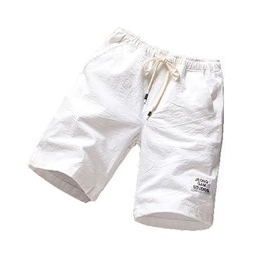 Pantalones de Playa para Hombre Deportes Traje de Playa Fitness ...