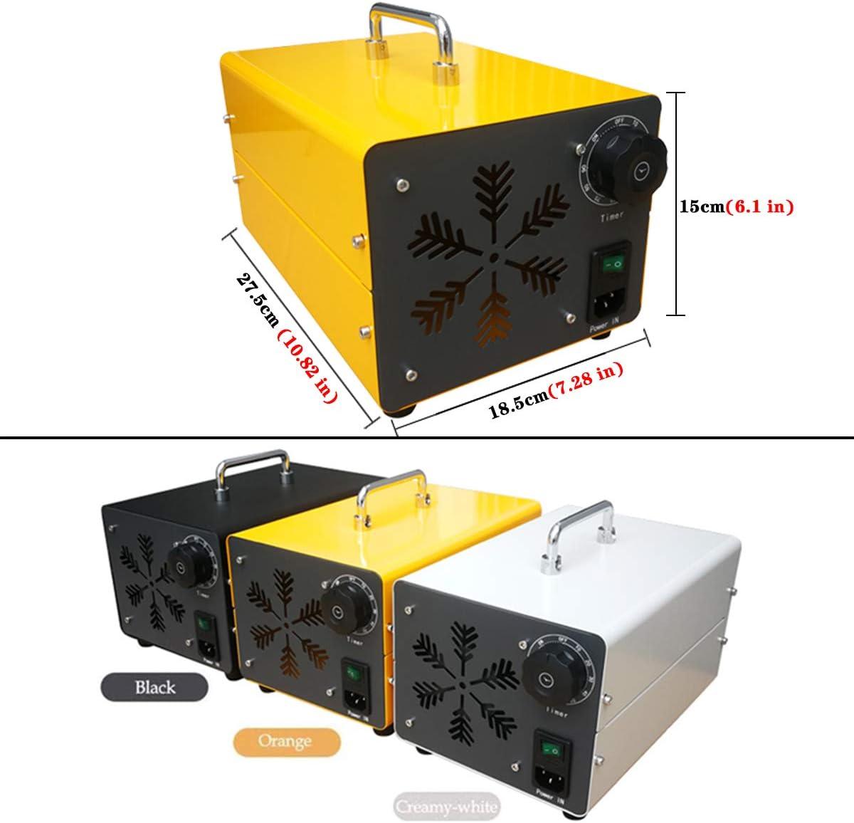 fumo e fatto Ozonizzatore 20000GMG//h Generatore di ozono Home purificatore dAria ozono industriale purificatore daria con timer per camere hotel automobili animali domestici