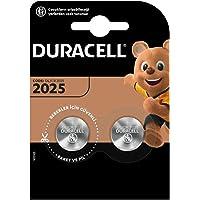 Duracell Specialty 2025 lithium-knoopcel 3 V, verpakking van 2 (CR2025/DL2025) ontworpen voor gebruik in sleutelhangers…