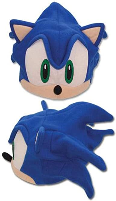 Great Eastern Sonic The Hedgehog Sonic Fleece Cap Ge 2331 At Amazon Men S Clothing Store Sonic The Hedgehog Costume