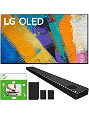 LG OLED65GXPUA 65-inch GX 4K Smart OLED TV with AI ThinQ (2020 Model) Bundle SN11RG 7.1.4 ch High Res Audio Sound Bar with Dolby Atmos and Surround Speakers + TaskRabbit Installation Services