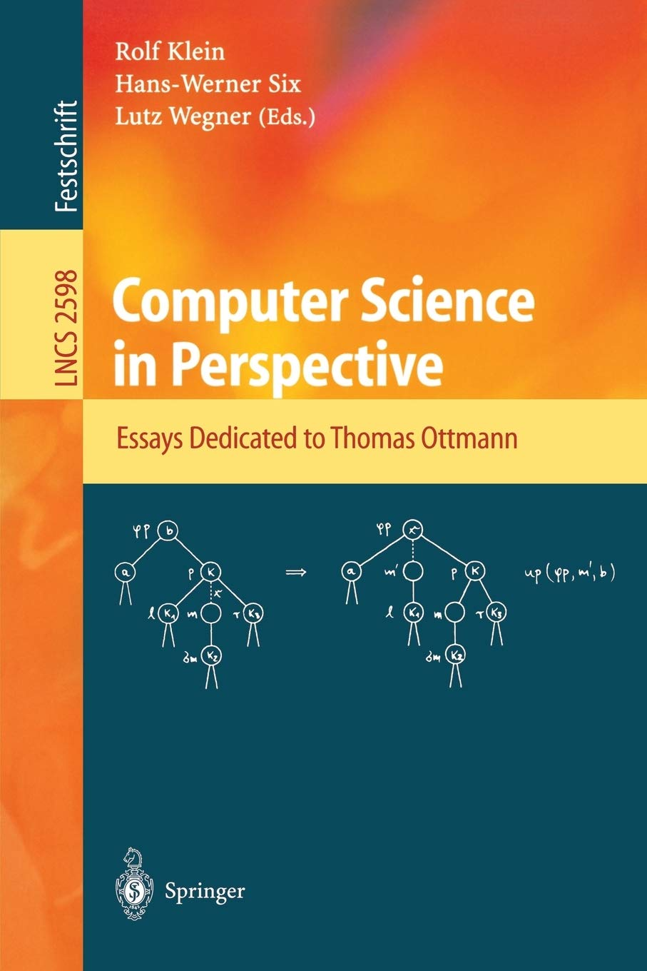 Computer Science in Perspective Essays Dedicated to Thomas ...