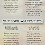 picture relating to The Four Agreements Printable called The 4 Agreements: A Hassle-free Advisor towards Person Independence