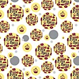 Flour Power Baking Baker Chef Cookie Cake Donut Funny Premium Gift Wrap Wrapping Paper Roll