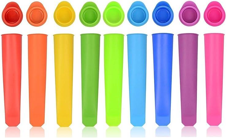 Compra Bekith - 10 moldes de silicona para helados, fácil de ...