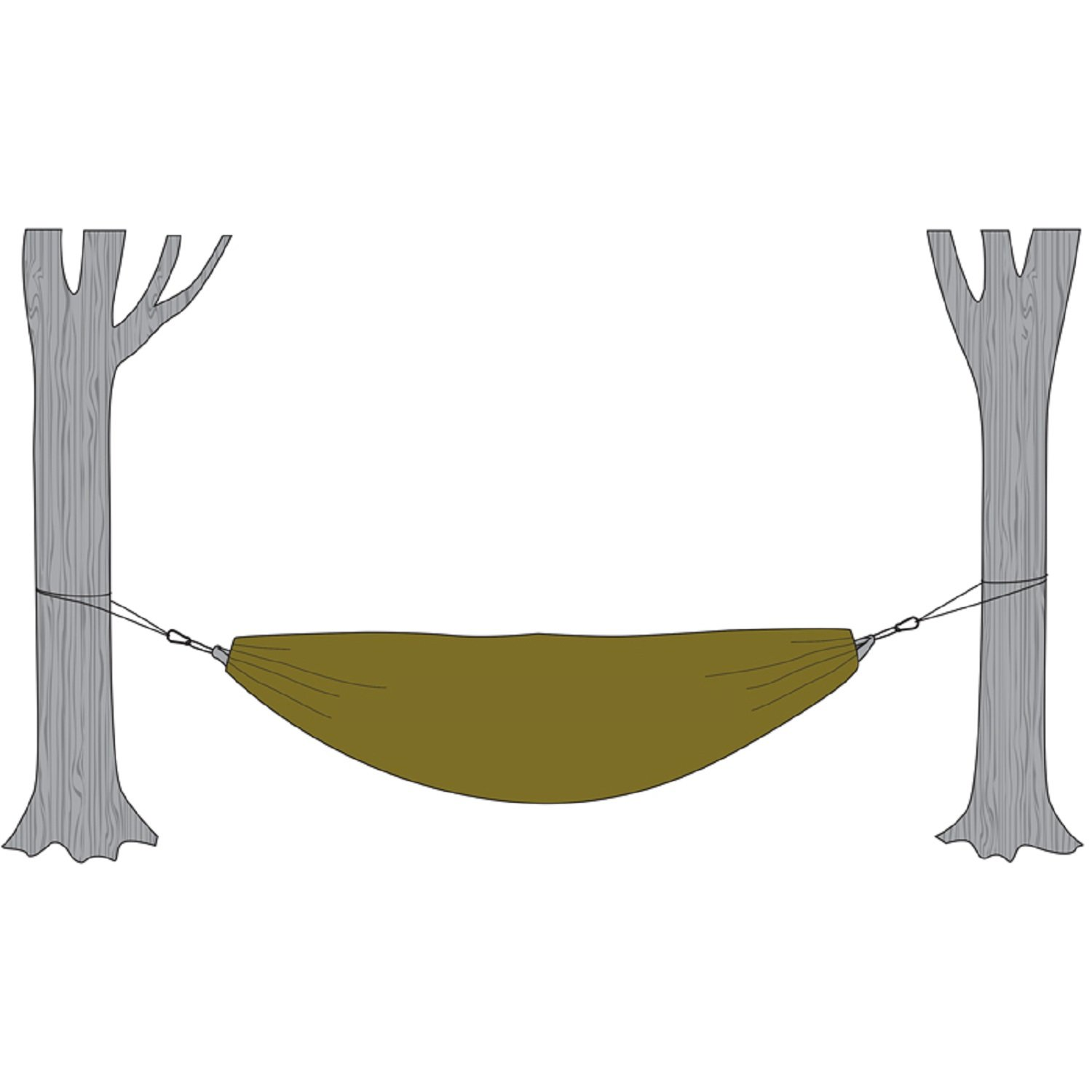 Amazon.com : Snugpak Hammock Cocoon With Travelsoft Filling, Olive : Sports  U0026 Outdoors
