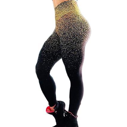 Mallas Mujer, Mujeres Moda Casual Leggins de Fitness ...