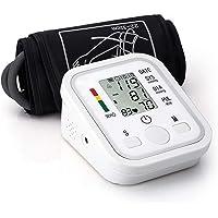 SEEDARY Tensiómetro de Brazo, Baumanómetro Digital y Monitor de Presión Arterial Automático con Pantalla LCD Grande y Transmisión de Voz en Español, 2 * 99 Memorias,Validado Clínicamente , CE & RoHS, Color Blanco