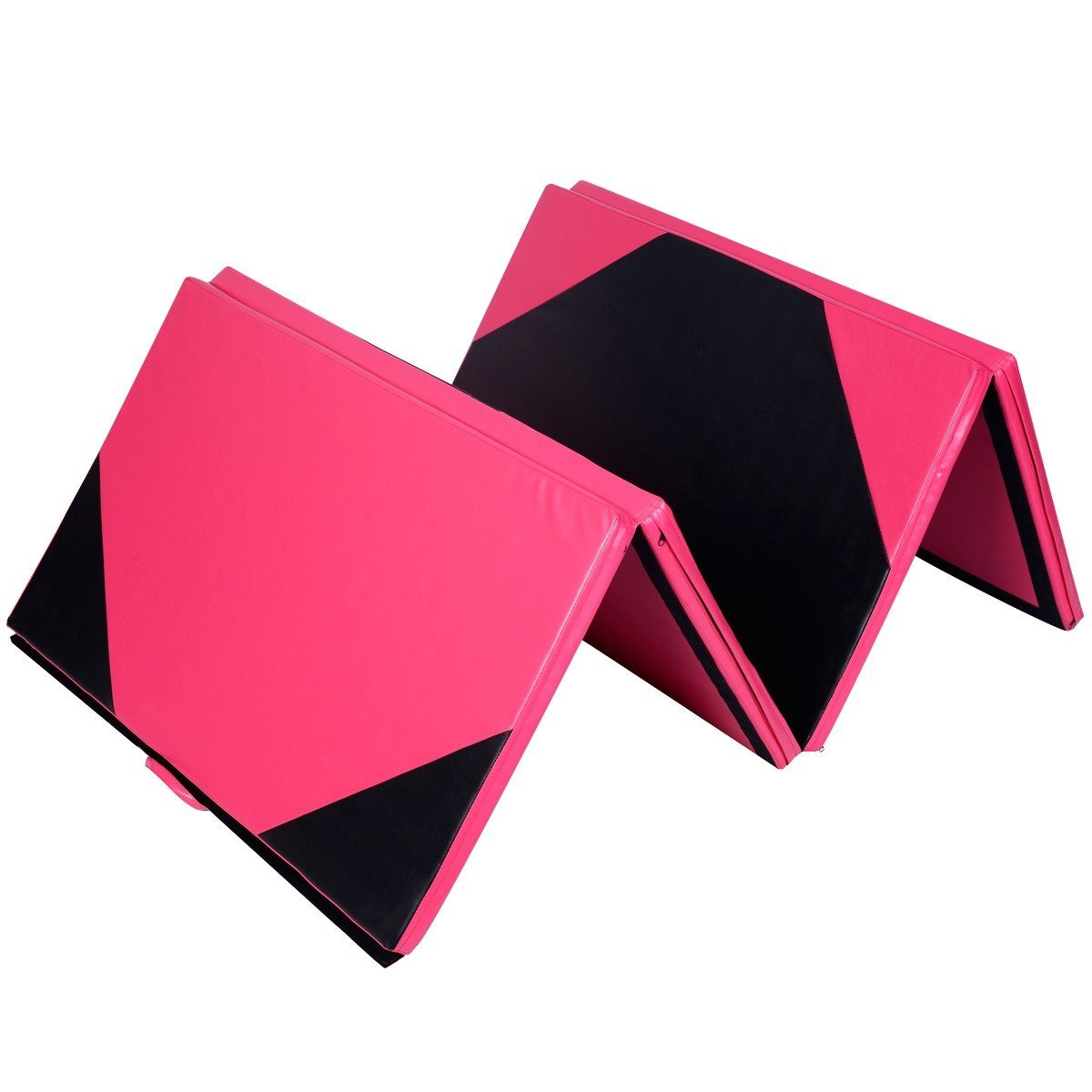 4' x 10' x 2'' Thick Folding Panel Gymnastics Mat